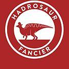 Hadrosaur Fancier by David Orr