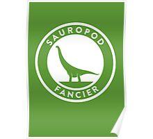 Sauropod Fancier Print Poster