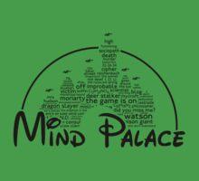 Mind Palace - (black text) Kids Clothes