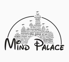 Mind Palace - (black text) Kids Clothes