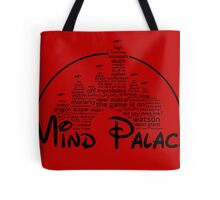Mind Palace - (black text) Tote Bag