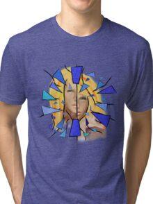 Chaziolia V1 - Charlize Theron Tri-blend T-Shirt