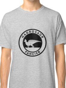Hadrosaur Fancier (Black on Light) Classic T-Shirt