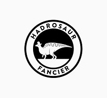 Hadrosaur Fancier (Black on Light) Unisex T-Shirt
