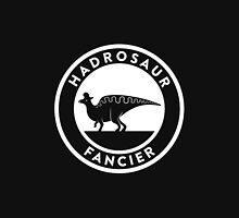 Hadrosaur Fancier (White on Dark) Unisex T-Shirt
