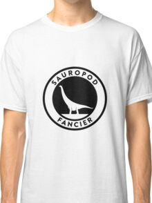 Sauropod Fancier (Black on Light) Classic T-Shirt