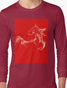 Year of the Horse (Chinese New Year 2014) Long Sleeve T-Shirt