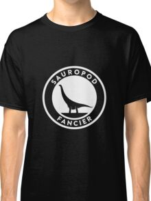 Sauropod Fancier (White on Dark) Classic T-Shirt