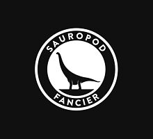 Sauropod Fancier (White on Dark) Unisex T-Shirt