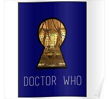 TARDIS Keyhole Poster