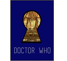TARDIS Keyhole Photographic Print