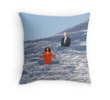 In order to prepare for the Olympics, Bryon must practice skiing the moguls.  Throw Pillow