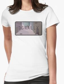 Diagon Alley Womens Fitted T-Shirt