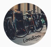 london- bikes by WebbedWhitehall
