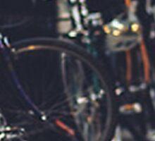 london- bikes Sticker