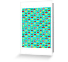 Boats in the sea  Greeting Card