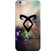 The mortal instruments : Shadowhunter rune - Angelic Power iPhone Case/Skin