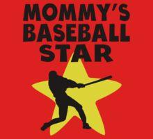 Mommy's Baseball Star One Piece - Short Sleeve