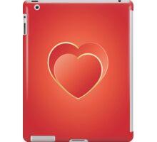 2 hearts iPad iPad Case/Skin