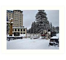 Chateau Lake Louise Art Print