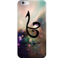 The mortal instruments : Shadowhunter rune - Strength iPhone Case/Skin