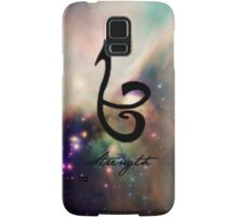 The mortal instruments : Shadowhunter rune - Strength Samsung Galaxy Case/Skin