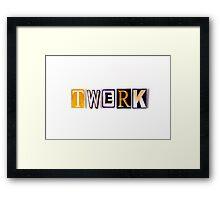 twerk Framed Print