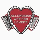 Accordions Are For Lovers 2 in steamy red! by juliethebruce