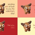 Alot of Valentines, assorted by mezzotessitura