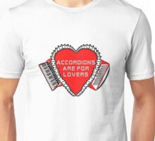 Accordions Are For Lovers 3 in bright red! T-Shirt