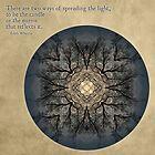 Spreading the Light: Setting Sun Mandala by Gail S. Haile