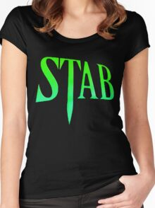Stab - Scream 4 Women's Fitted Scoop T-Shirt