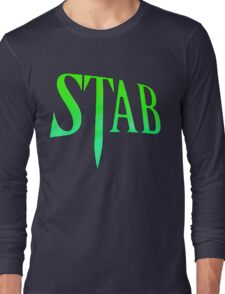 Stab - Scream 4 Long Sleeve T-Shirt