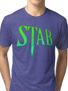 Stab - Scream 4 Tri-blend T-Shirt