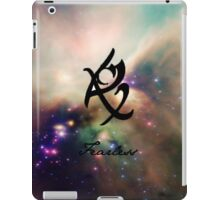 The mortal instruments : Shadowhunter rune -  - Fearless (fear not) iPad Case/Skin