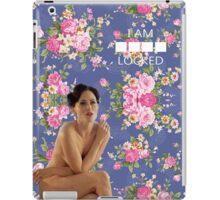 I AM ----- LOCKED iPad Case/Skin