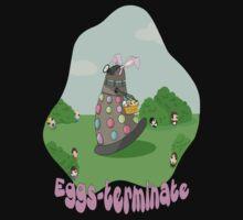 Original Art Eggs-Terminate Doctor Who  Kids Clothes