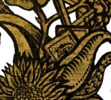 Vincent van Sharpie - Sunflower #1 Sticker