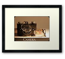 The Camera  Framed Print