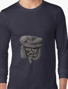 psychedelic intestines Long Sleeve T-Shirt
