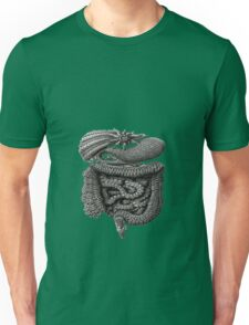 psychedelic intestines Unisex T-Shirt