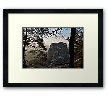 """The Goose Rocks"" Framed Print"