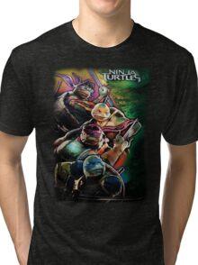 2014 TMNT Ninja Turtles movie poster shirt Tri-blend T-Shirt