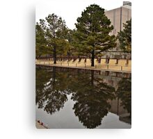 Reflections in OKC Canvas Print