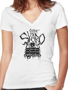 Cult of Skaro Women's Fitted V-Neck T-Shirt