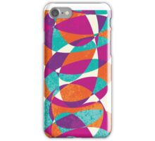 60s decorative design iPhone Case/Skin
