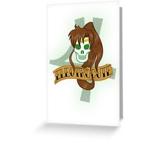 electroCUTE Greeting Card