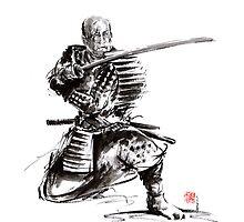 Samurai armor armour silver plated bushido sword katana yoroi bushi by Mariusz Szmerdt