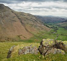 The Langdale Valley by FyldePhotos