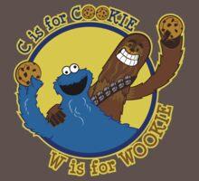 Cookie & Wookie One Piece - Short Sleeve